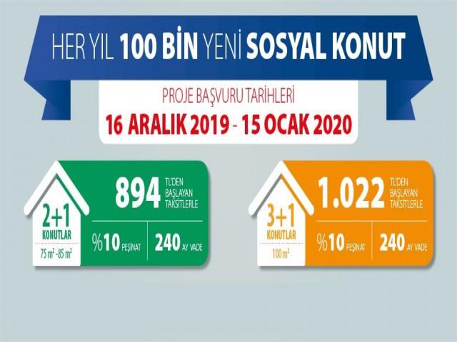 AKGEDİK'E 350 YENİ KONUT YAPILACAK