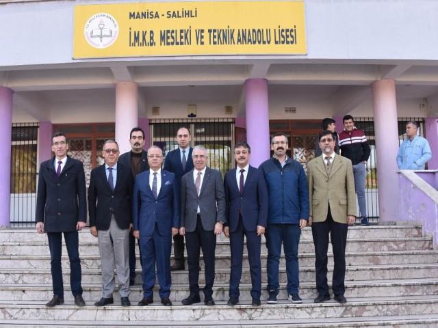 TOBB'DAN MESLEK LİSESİNE ZİYARET