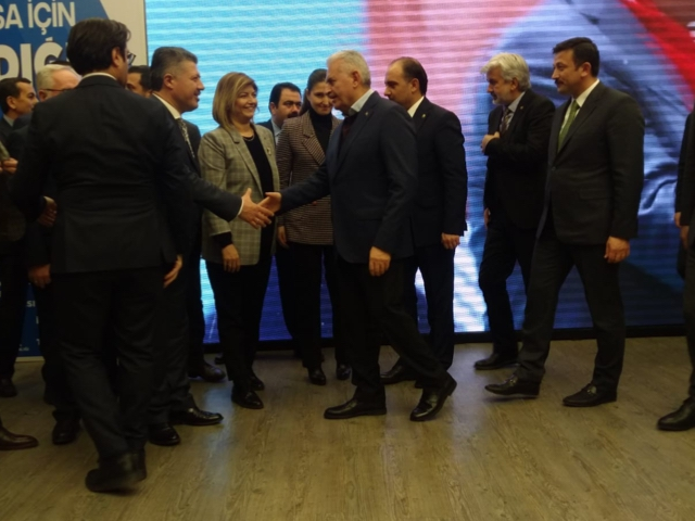 YILDIRIM 'İL DANIŞMA MECLİSİ' TOPLANTISINDA