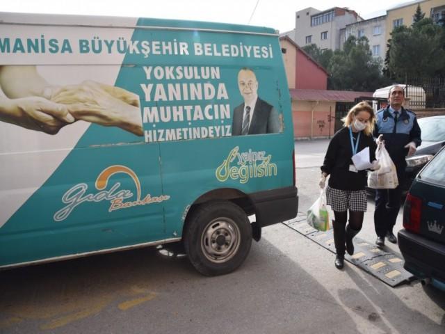 GIDA BANKASI'NDAN EVE SERVİS
