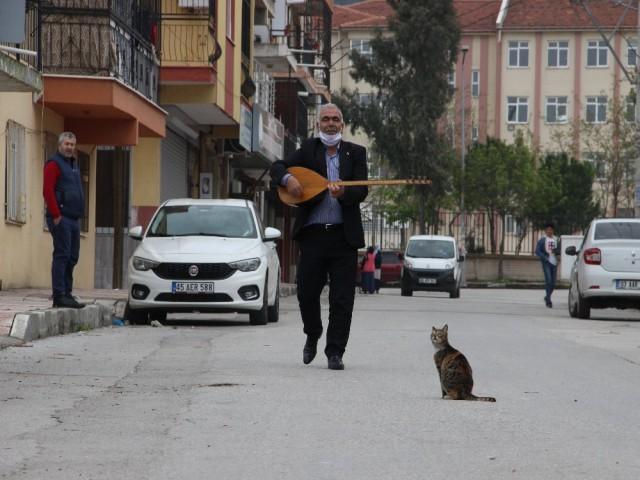 'AŞIK' MUHTARDAN KORONA KONSERİ