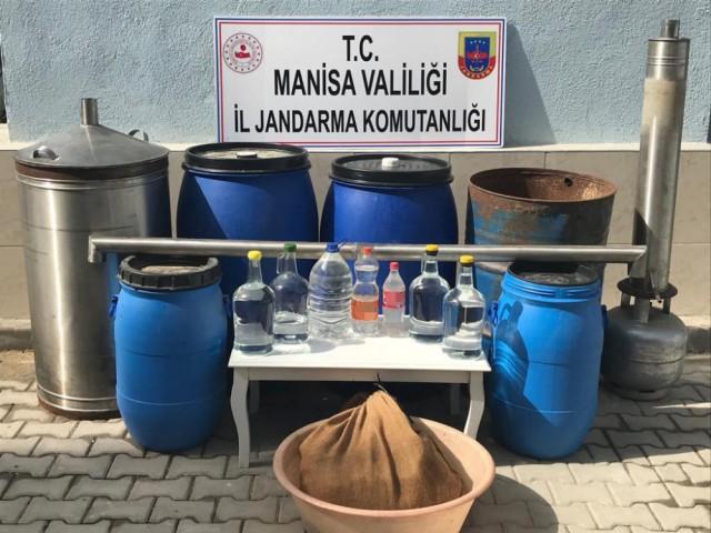 SAHTE ALKOL ÜRETİMİNE BASKIN