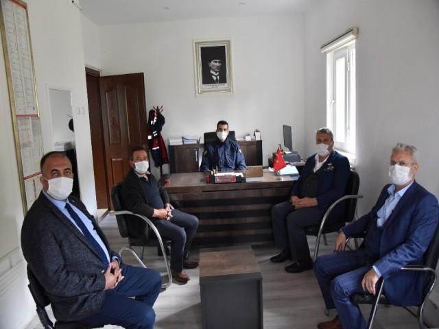 BAŞKAN ÇERÇİ'DEN JANDARMA'YA ZİYARET