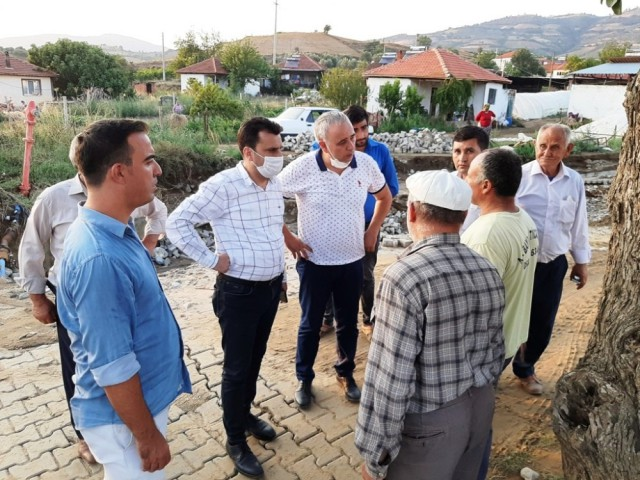 CHP'Lİ VEKİLLER SELİN VURDUĞU İLÇEDE