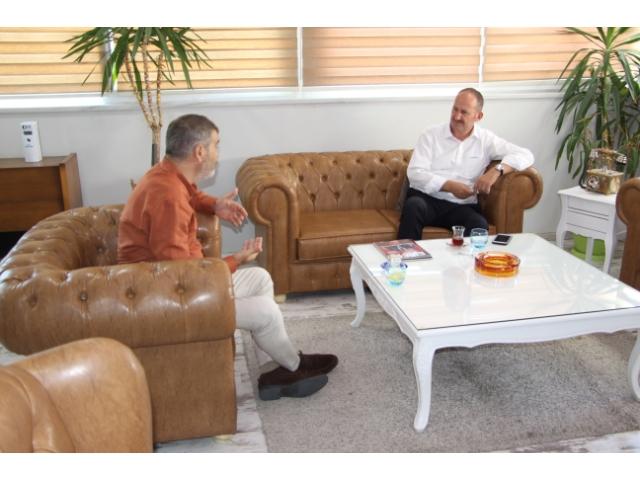 KAYMAKAM'DAN HİRAŞ'A ANLAMLI ZİYARET