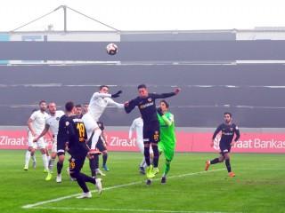 MANİSA FK: 3 - 3 :KAYSERİSPOR