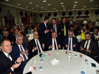 MHP'DE VEFA YEMEĞİ DÜZENLENDİ