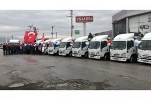 """TARIM KREDİ """"ISUZU YÜKSELİŞ"""" DEDİ"""