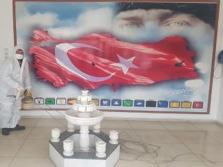 TURGUTLU'DA HİJYEN SEFERBERLİĞİ