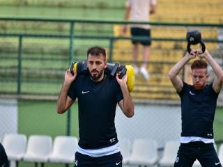 MANİSA FK'DA KUVVET ANTRENMANI YAPILDI