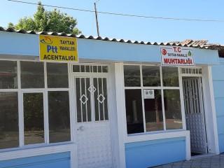 TAYTAN'A PTT ACENTESİ AÇILDI