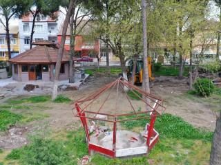 MÜTEVELLİ'DE PARK VE KAFE YENİLENİYOR